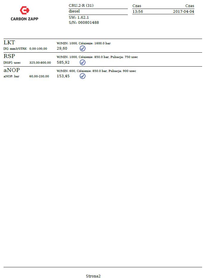 Gładysek | Common Rail injectors reconditioning